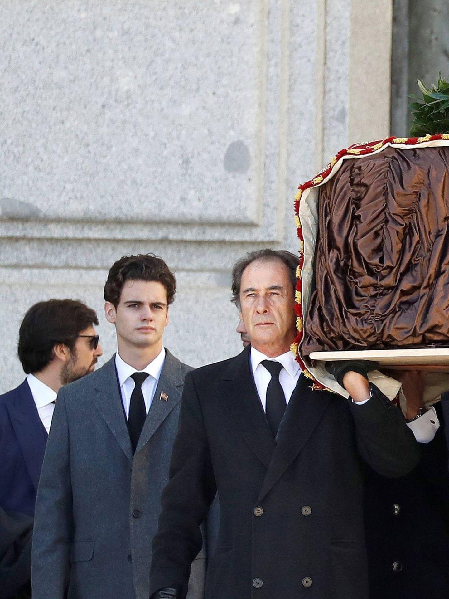 Diego Martínez-Bordiú y Francis Franco. (Getty)