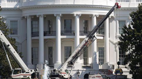 Trabajos de renovación en la Casa Blanca