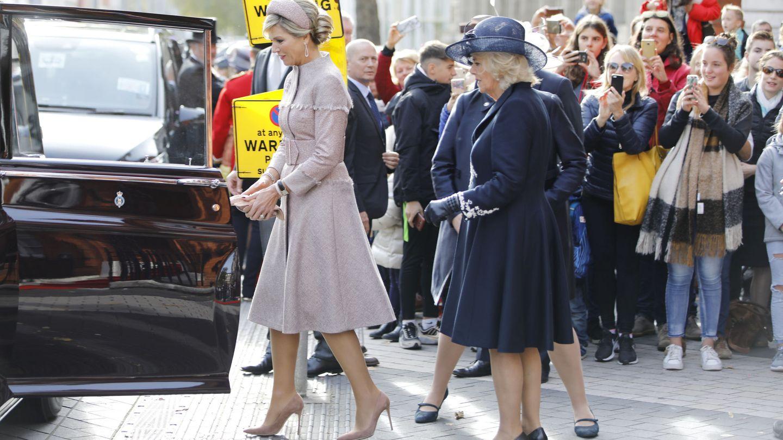 Máxima con la duquesa. (Reuters)