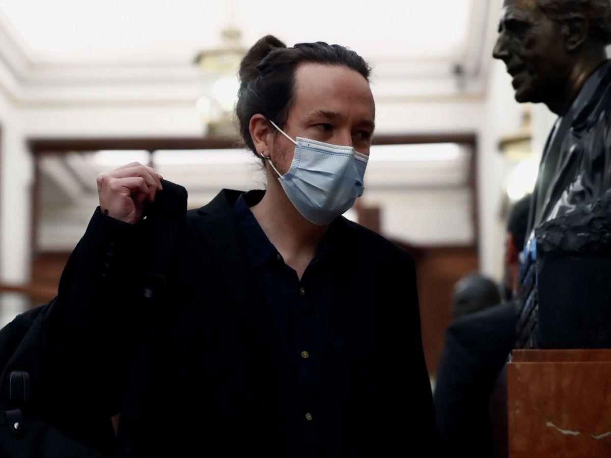 Foto: El vicepresidente y líder de Podemos, Pablo Iglesias. (EFE)