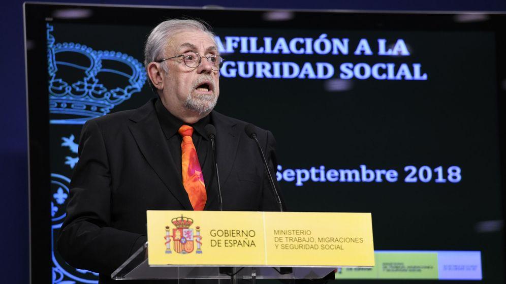 Foto: Octavio Granados, secretario de Estado de la Seguridad Social (Efe)