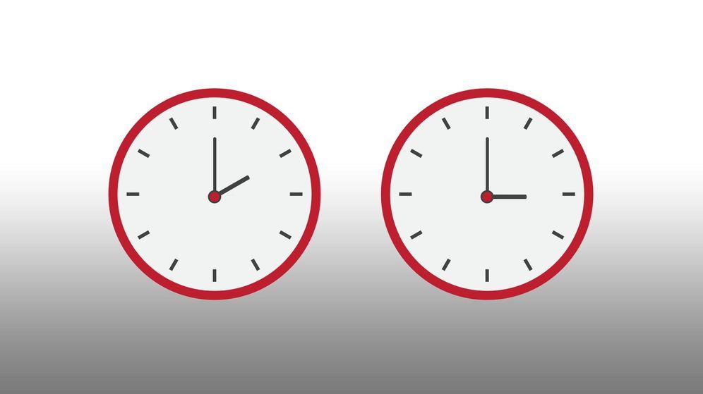 Foto: Hay que adelantar el reloj una hora durante la madrugada del próximo domingo (EC)