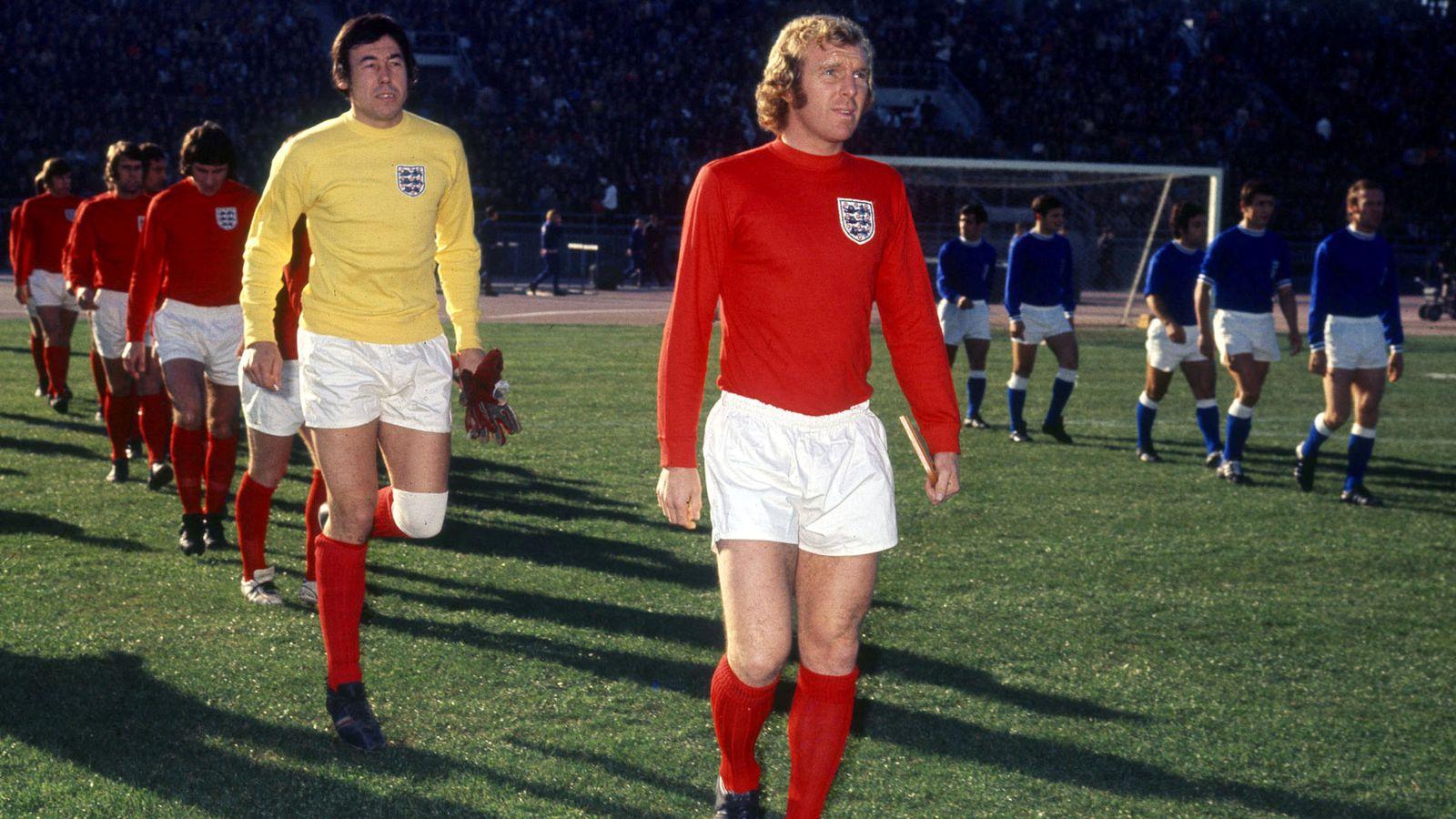 Foto: Gordon Banks, con Inglaterra. (Reuters)
