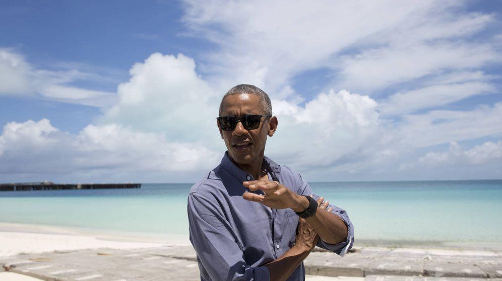 Foto: El expresidente Barack Obama en una imagen de archivo. (Gtres)