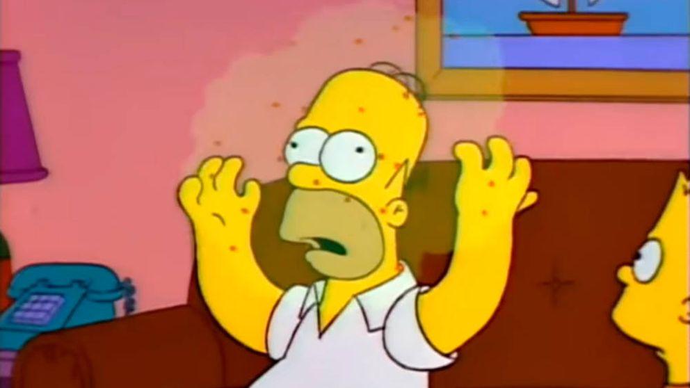 ¿Pronosticaron también Los Simpson la aparición del coronavirus?