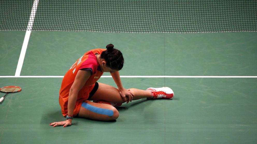 Carolina Marín, a cuartos del Mundial pese a dar el susto en el inicio de partido