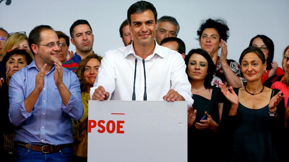 El PSOE pierde votos pero gana poder