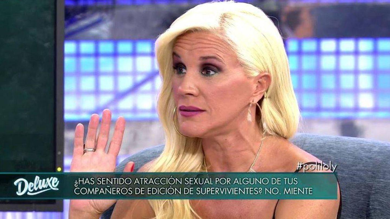 Loli Álvarez, en 'Sábado Deluxe'. (Telecinco).