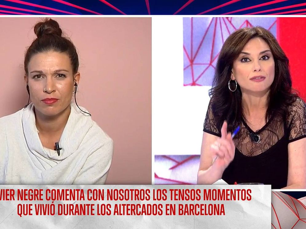 Foto: Beatriz Talegón y Marta Flich, en 'Todo es mentira'. (Cuatro)