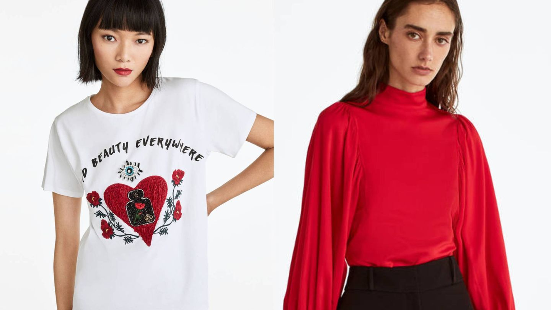 Todo al rojo para combinar con tu falda nueva. (Cortesía)