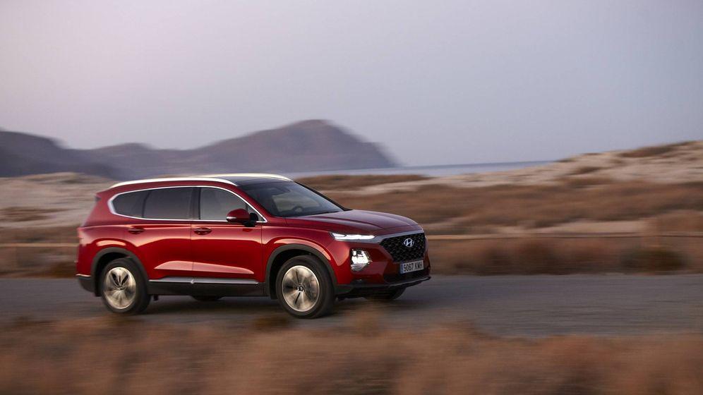 Foto: Cuarta generación del Hyundai Santa Fe