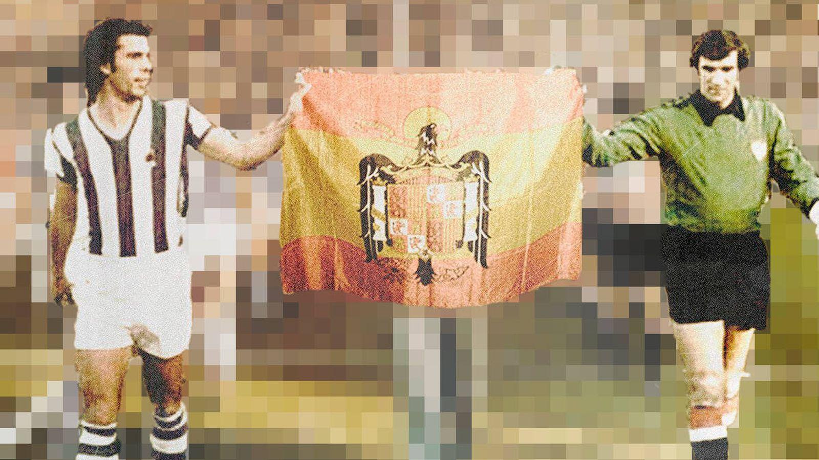 Foto: Montaje fotográfico sacado de la portada de 'Gooolpe de vista' (Ciclos Iturgaiz)