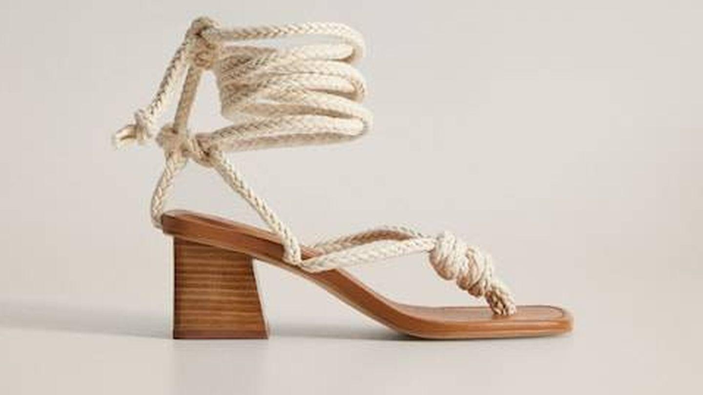 Las nuevas sandalias de verano de Mango. (Cortesía)
