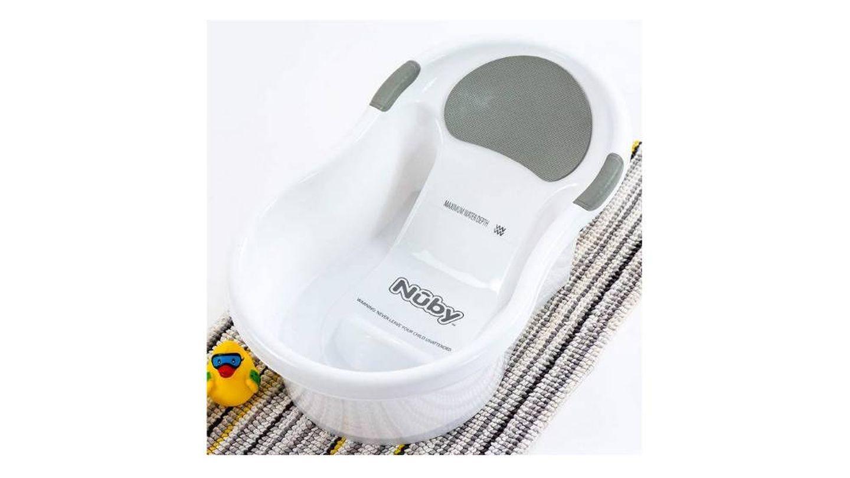 Bañera con asiento integrado para bebé Nuby