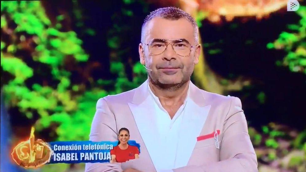 Foto: Jorge Javier Vázquez, en 'Supervivientes 2019'. (Telecinco)