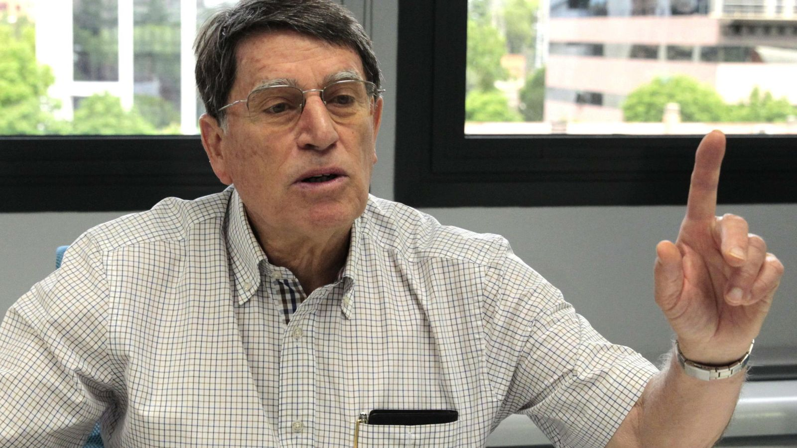 Foto: l presidente de la Federación Española de Atletismo, José María Odriozola (Efe).