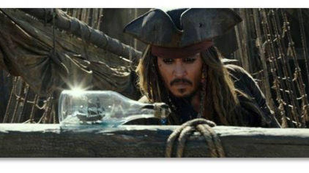 Foto: Johnny Depp protagoniza 'Piratas del Caribe: la venganza de Salazar'
