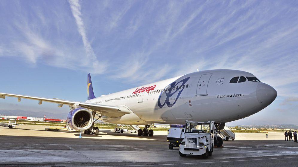 Foto: Nuevo Airbus 330-300 que Air Europa, del Grupo Globalia, ha incorporado a su flota. (EFE)