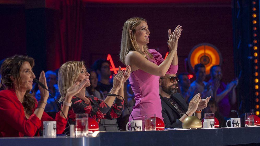 Foto: Imagen del jurado de 'Got Talent España 4'. (Mediaset)