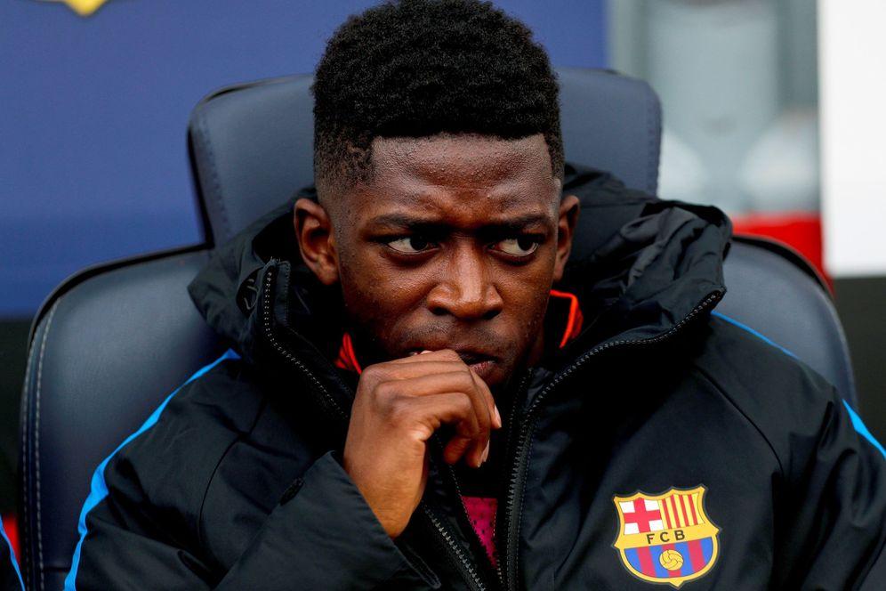 Foto: Las dudas crecen con Dembélé en el interior del Barcelona. (EFE)