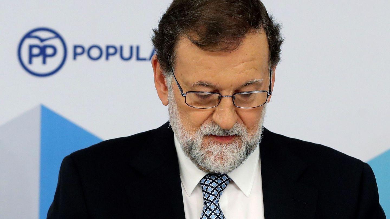El líder del PP, Mariano Rajoy, durante la reunión del comité nacional del partido. (EFE)