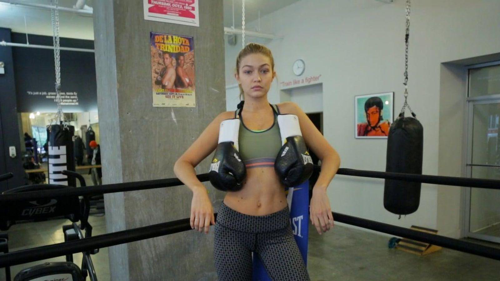 Boxeo el gimnasio de las supermodelos se parece al centro for Gimnasio de boxeo