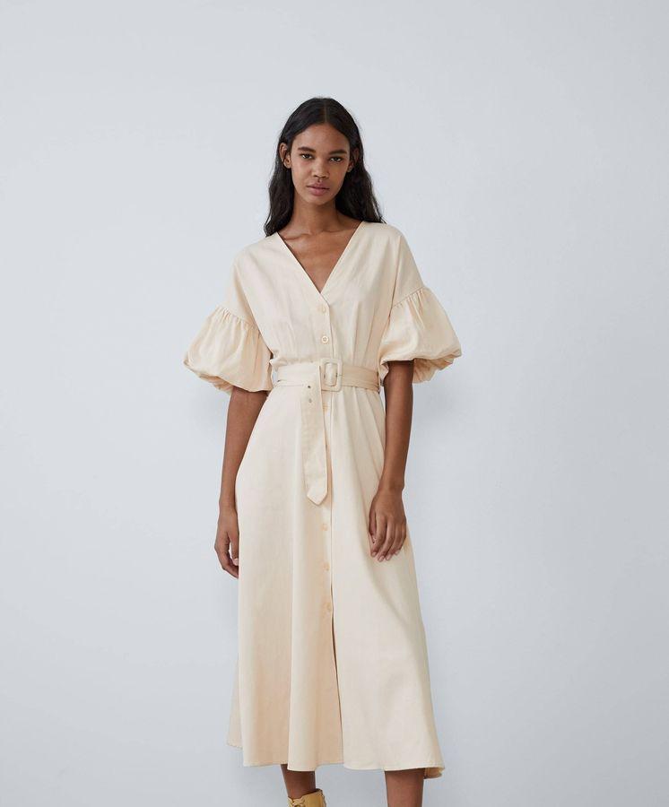 Foto: El vestido pertenece a la nueva colección de Zara y desearás estrenarlo ya mismo. (Cortesía)