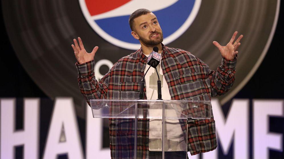 Foto: Justin Timberlake actuará en el descanso. (EFE)