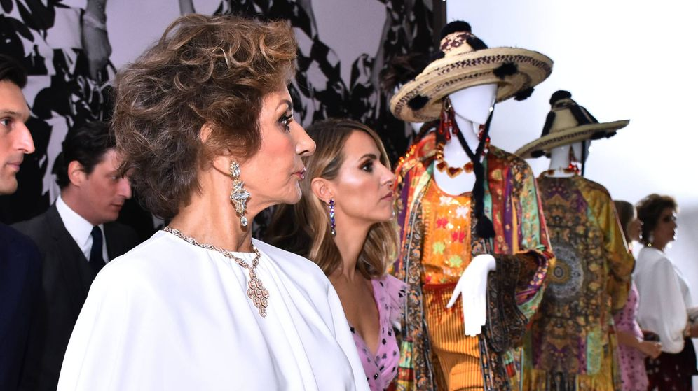 Foto: Naty Abascal, homenajeada en una exposición en México. (Cordon Press)