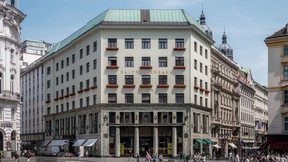 Foto: La Looshaus de Viena, uno de los lugares emblemáticos de la capital austriaca.