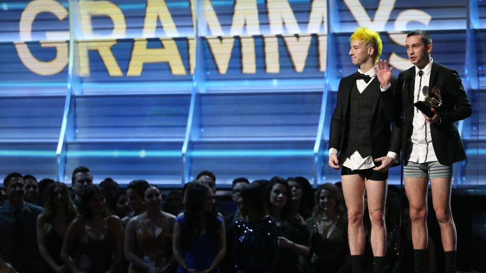 Foto: Twenty One Pilots, en los Premios Grammy | Reuters
