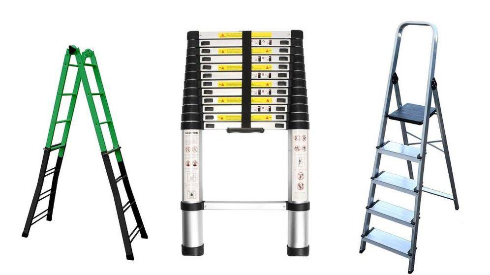 Foto: Las mejores escaleras de aluminio extensibles