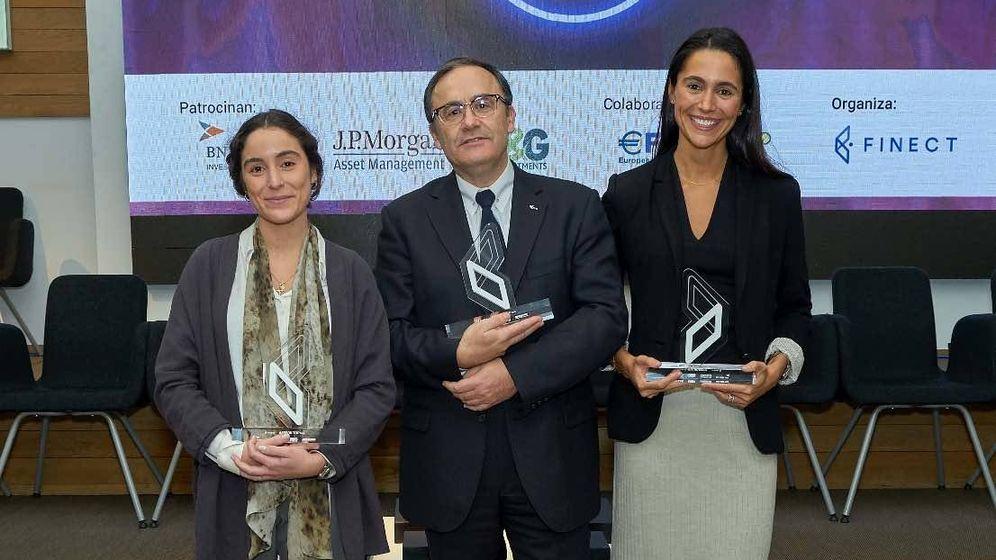 Foto: Sandra Curto, Juan Antonio Belmonte y Macarena Cabello de los Cobos