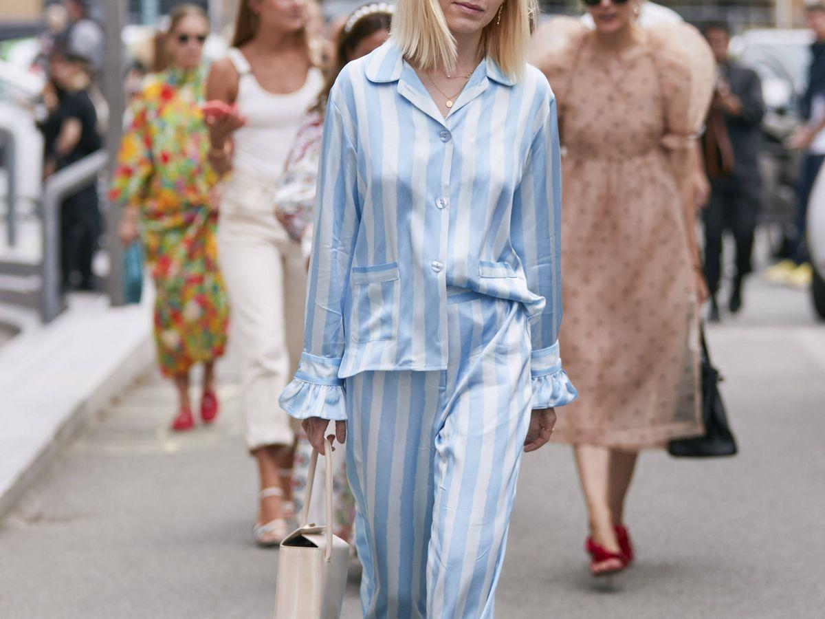 Foto: La ropa de cama toma los street style de las ciudades. (Imaxtree)
