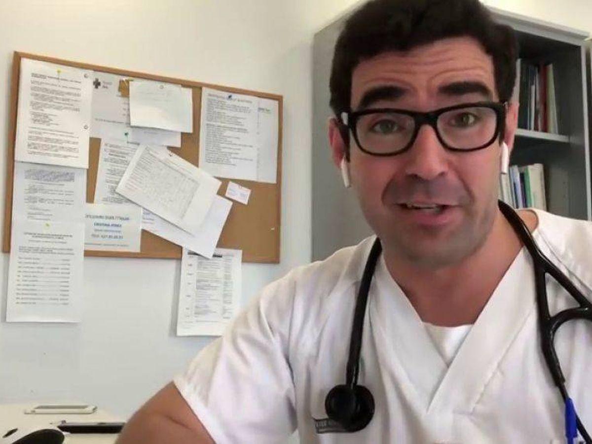Foto: Iván Moreno, en uno de sus vídeos de YouTube.