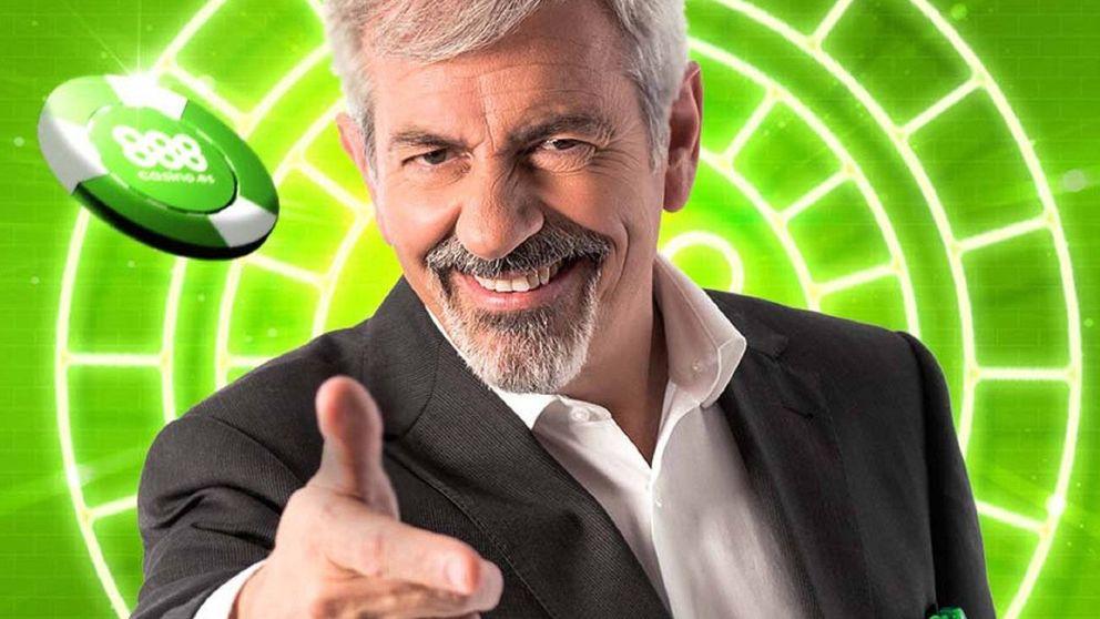 Multan a la casa de apuestas digital 888 por el polémico anuncio de Carlos Sobera
