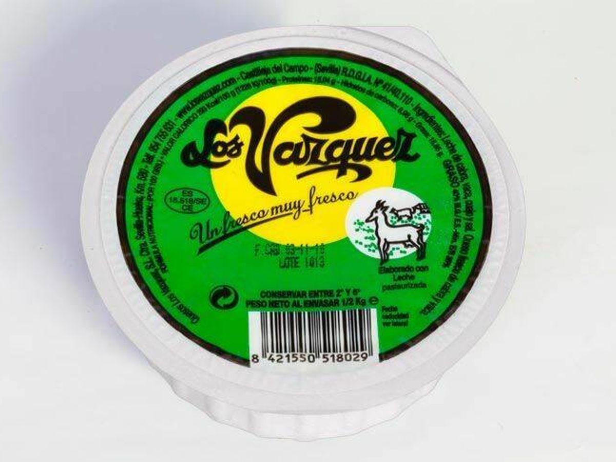 Foto: Retiran un lote de queso fresco de la marca Los Vázquez