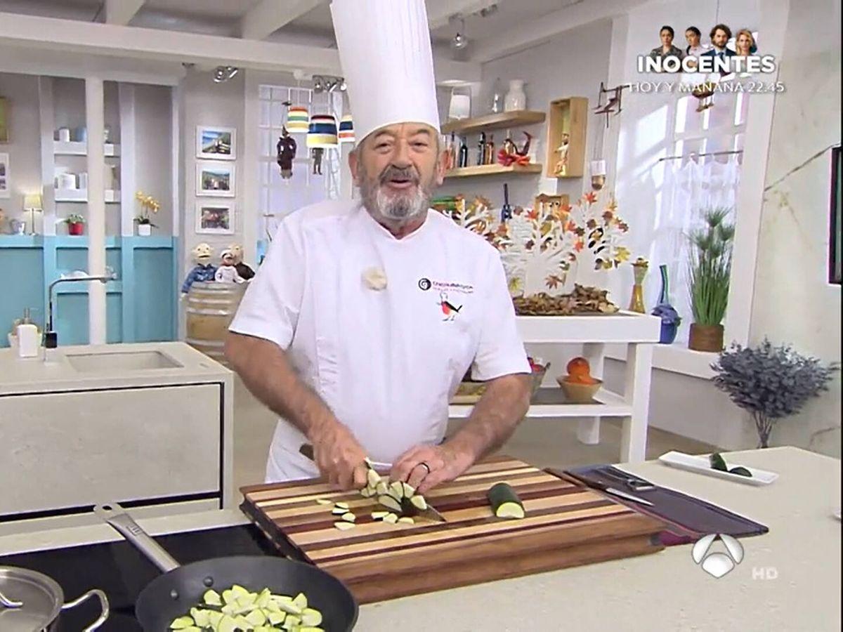 Foto: El cocinero Karlos Arguiñano. (Atresmedia)