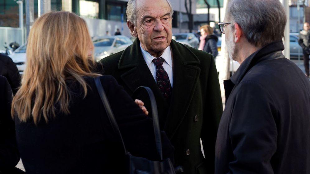Foto: Jaime Botín en su llegada al juzgado en 2017. EFE