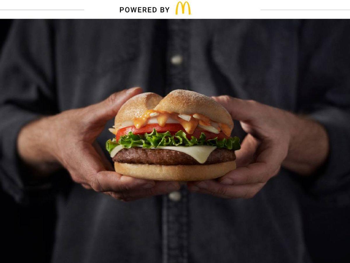 Foto: Big Good ya puede degustarse en los restaurantes McDonald's hasta finales de diciembre.