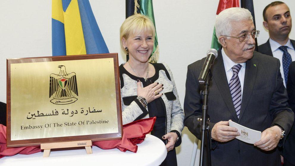 Abbas acude a la apertura de la embajada de Palestina en Suecia