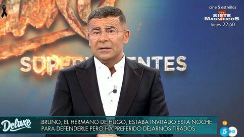Jorge Javier, indignado con un familiar de Hugo Sierra por su espantada del 'Deluxe'