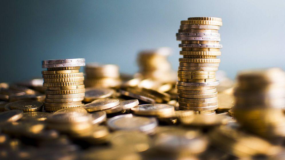 Foto: Una pila de monedas. (iStock)