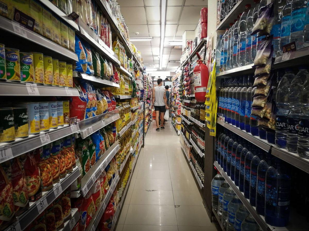 Foto: Supermercado. (EFE)