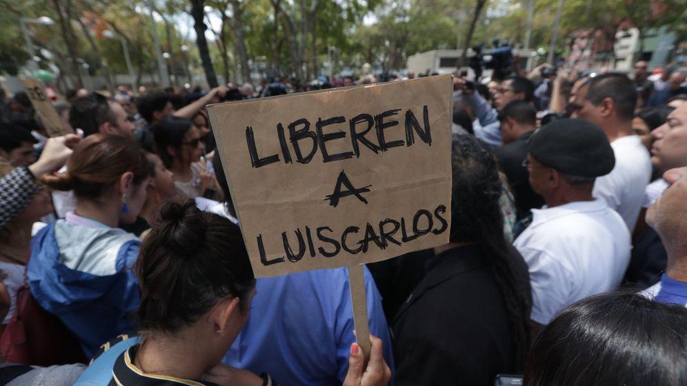 Foto: Protestas en Venezuela. (EFE)