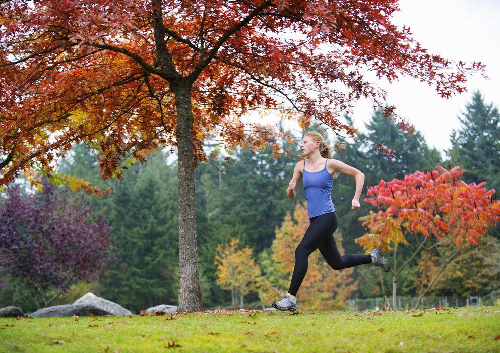Foto: En otoño las temperaturas permiten correr a cualquier hora. (Corbis)