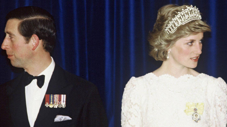 Lady Di y Carlos de Inglaterra. (Anwar Hussein/Wireimage)