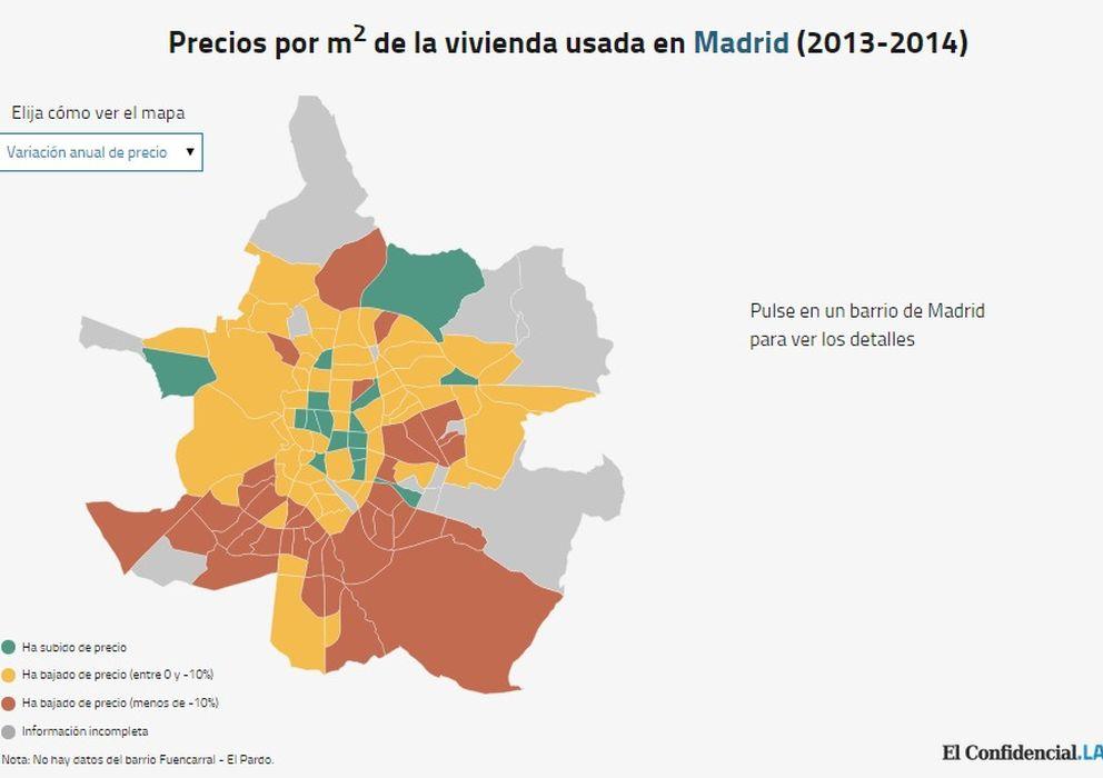 Vivienda vas a comprar casa en madrid echa un vistazo for Tilapias por metro cuadrado