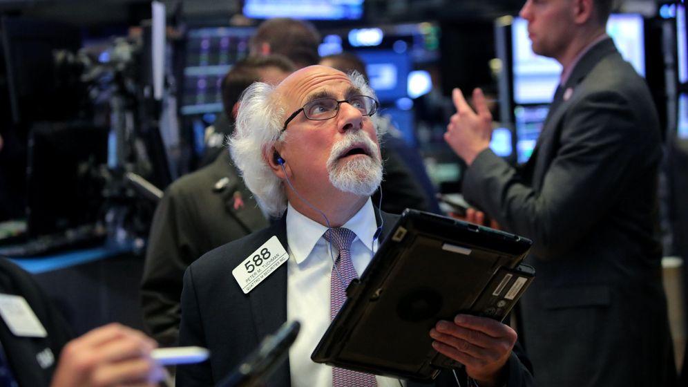 Foto: Peter Tuchman, el 'trader' más fotografiado de Wall Street. (Reuters)