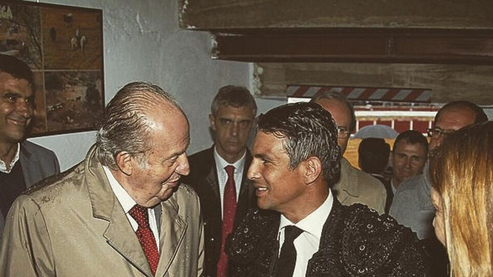Instagram – Don Juan Carlos da el pésame a Manzanares